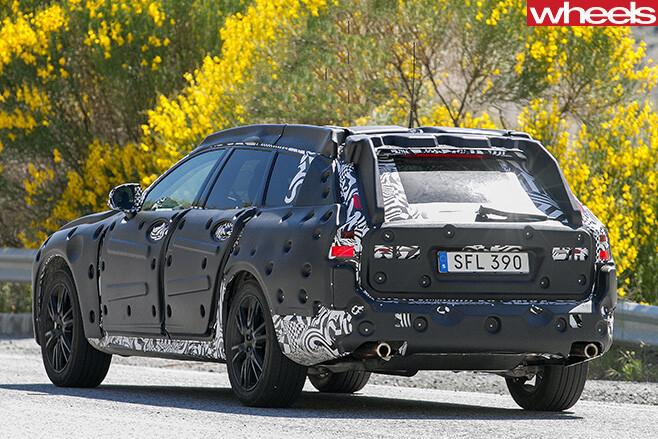 Volvo -V90-rear -side