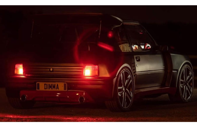 Dimma Peugeot 205 GTi 2020 night