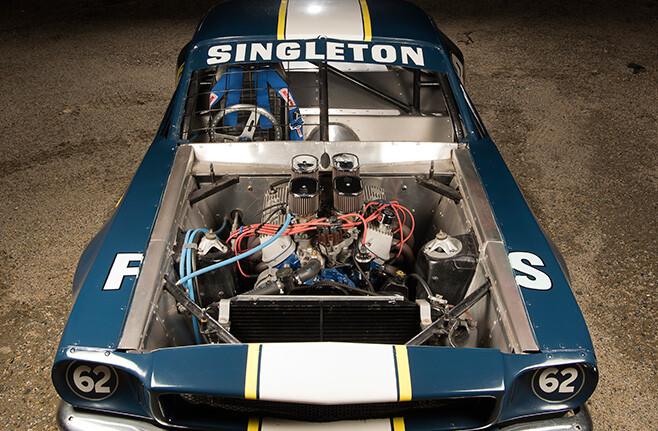 Speedway Mustang