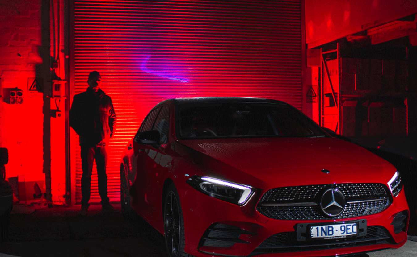 Mercedes-Benz A250 4Matic Red