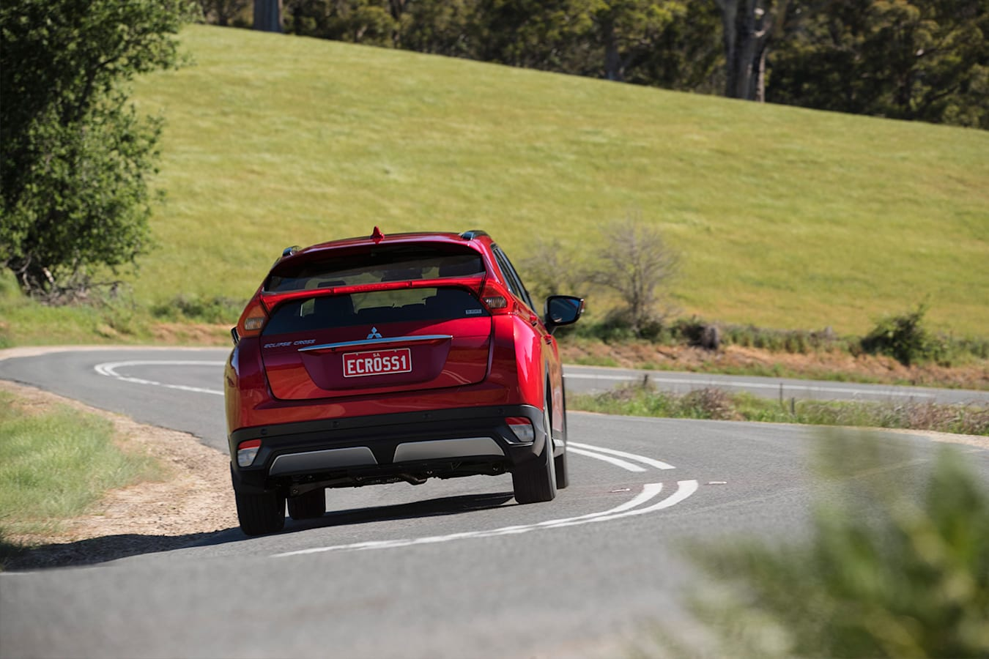 Mitsubishi Eclipse Cross Rear Quarter Driving Jpg