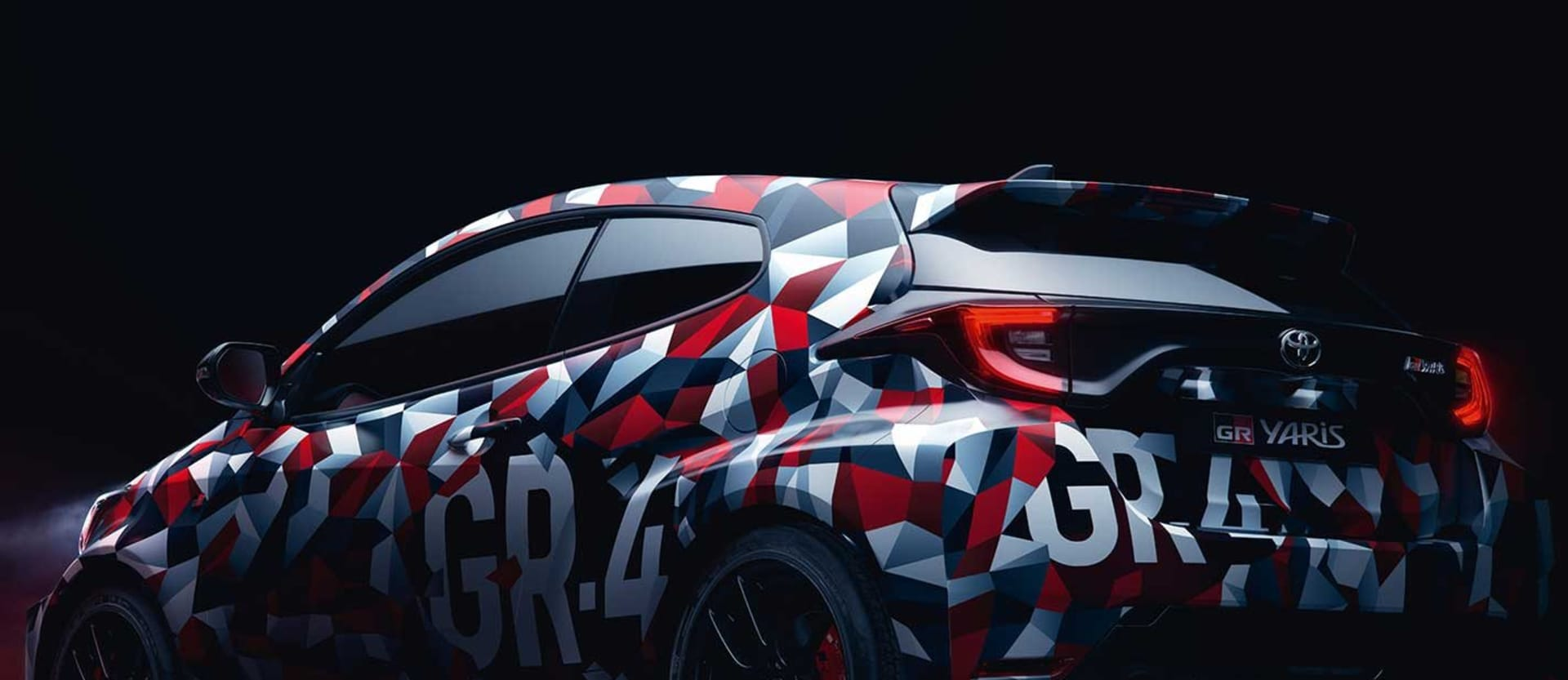 Toyota Yaris GR4 prototype teaser video