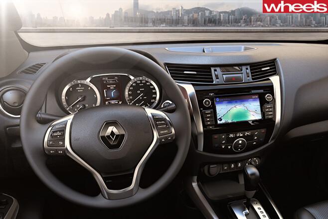 Renault -Alaskan -ute -interior