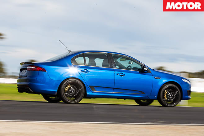 Ford falcon XR8 Sprint side driving