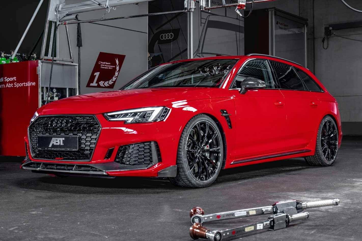 ABT debuts 375kW RS4+ Avant wagon 2019 Geneva Motor Show