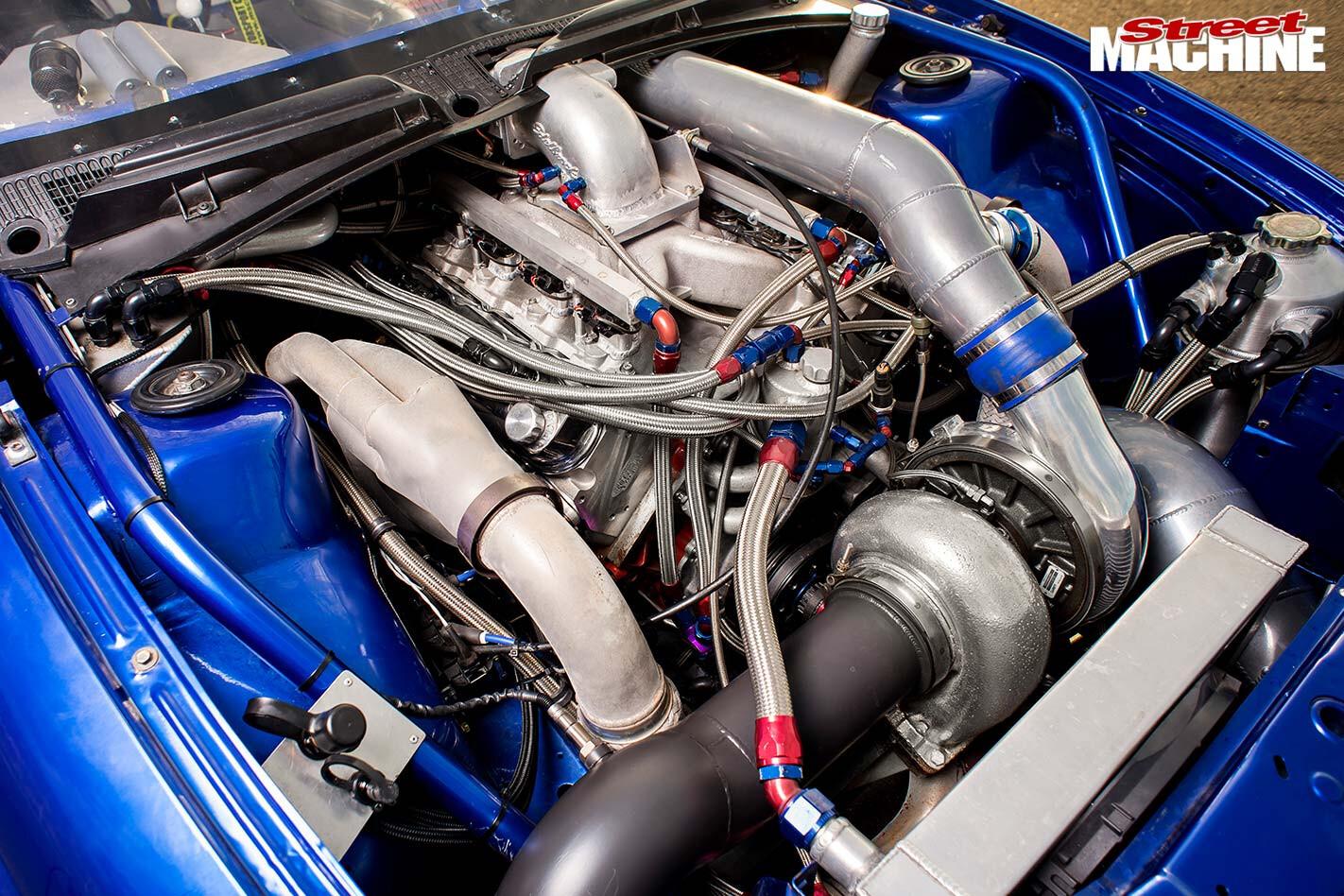Holden VT Commodore engine bay