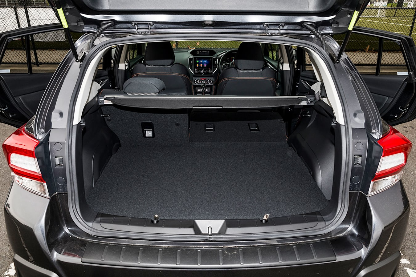 Ford Focus Active boot space