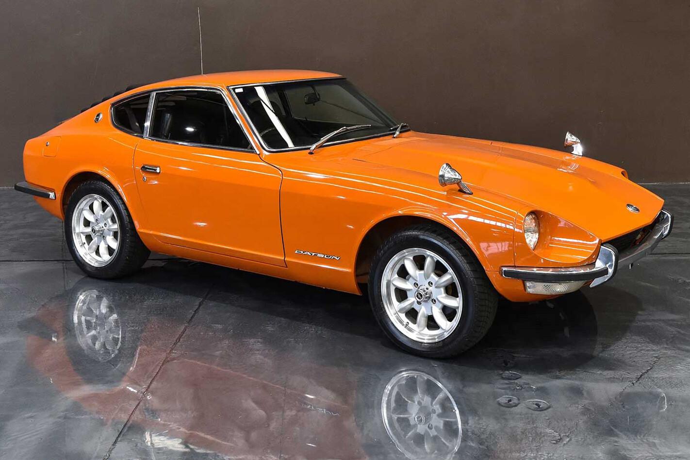 Nissan Z Car Orange Jpg
