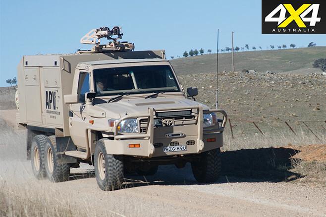 APV 79-series battle landcruiser front