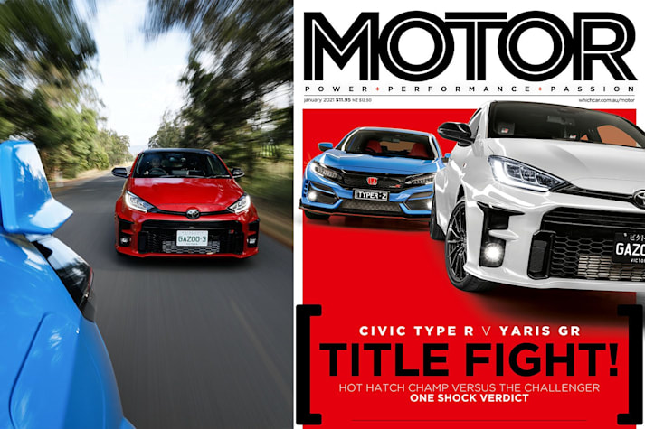 MOTOR magazine Jan 2021 cover