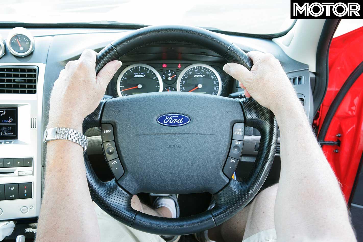 All Aussie Showdown 2005 Ford Steering Wheel Jpg