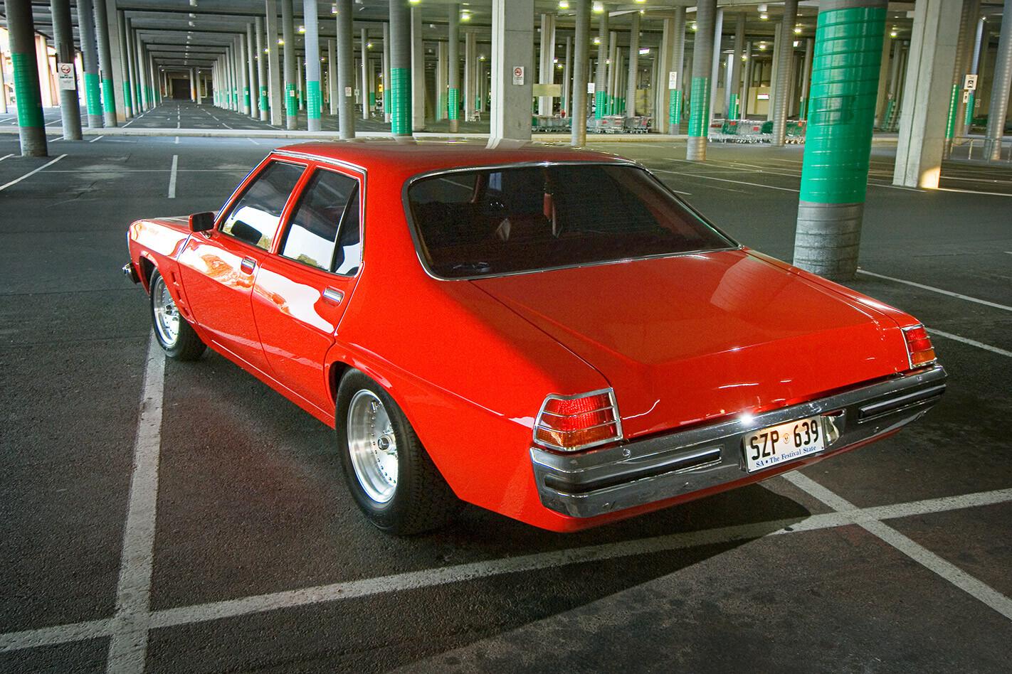 Holden HZ sedan rear