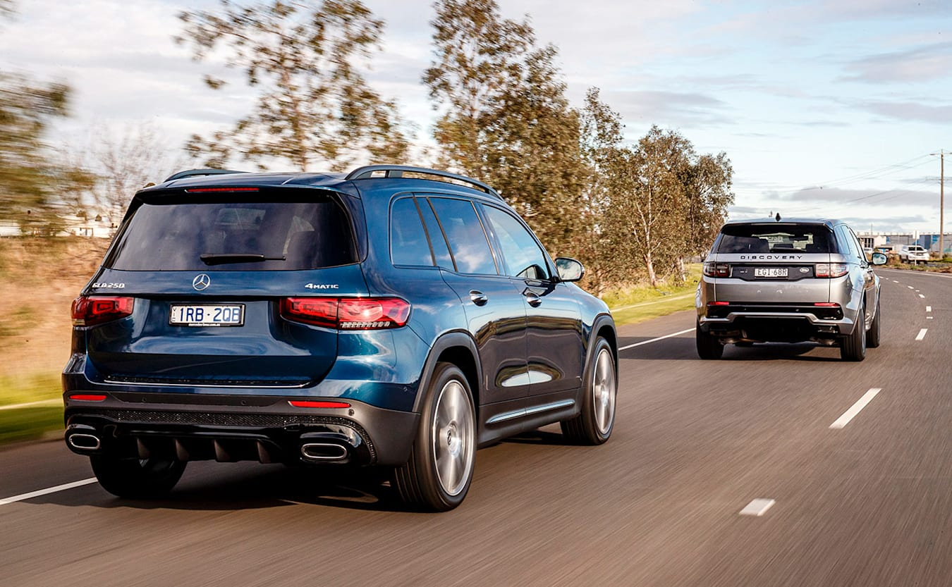 Mercedes-Benz GLB vs Land Rover Discovery Sport