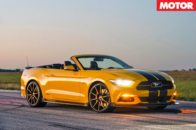 Sema Hennessey HPE750 Convertible front