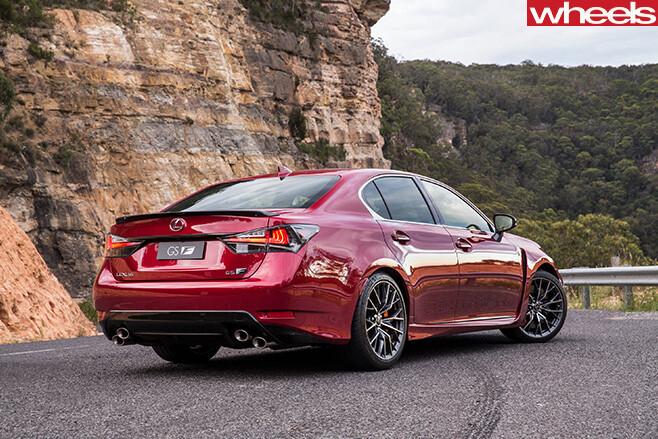 Lexus -GS-F-rear