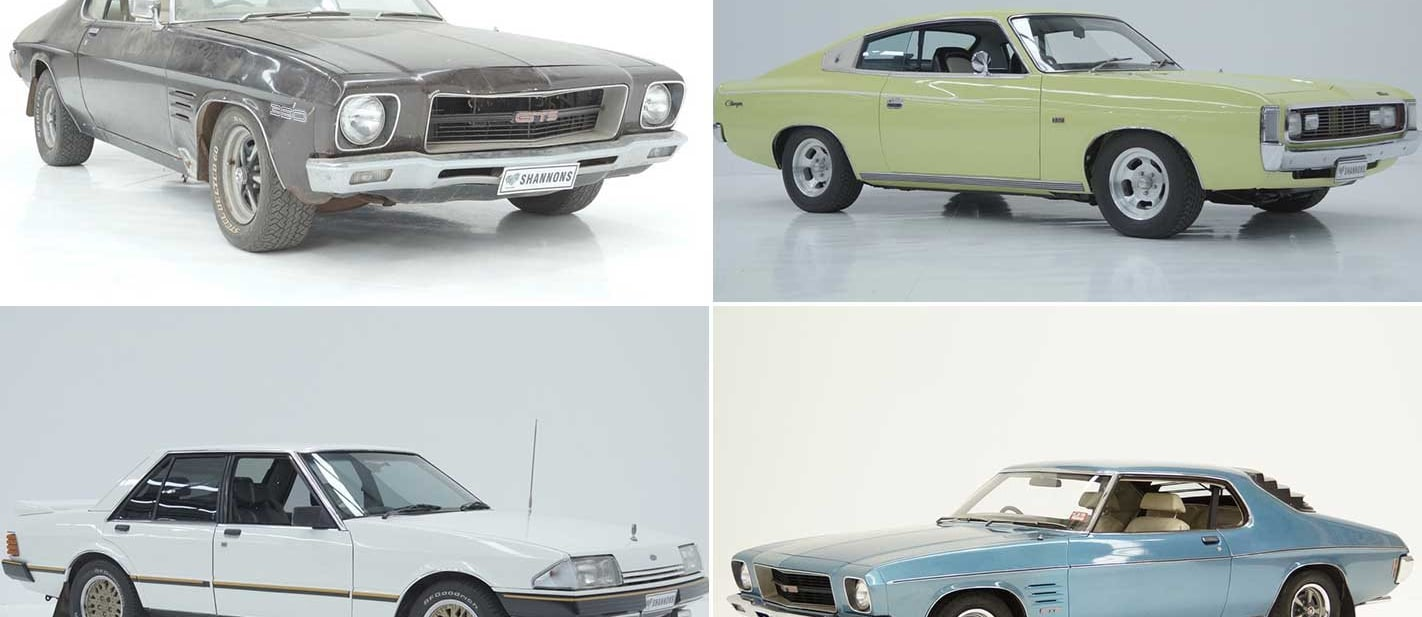 Classic V8s head to auction shannons