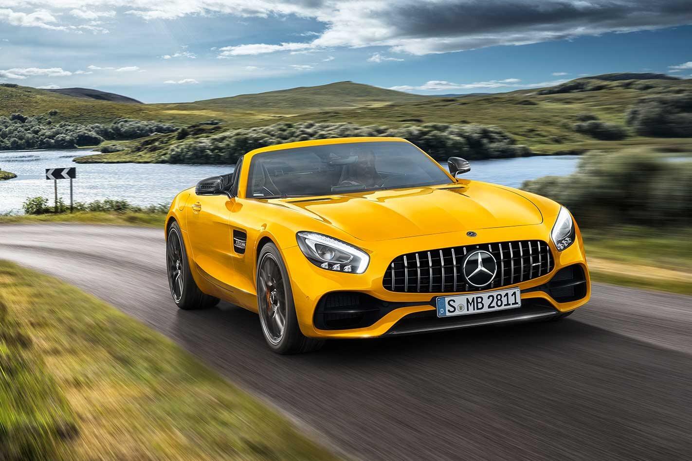 2018 Mercedes AMG GT S Roadster joins GT line up