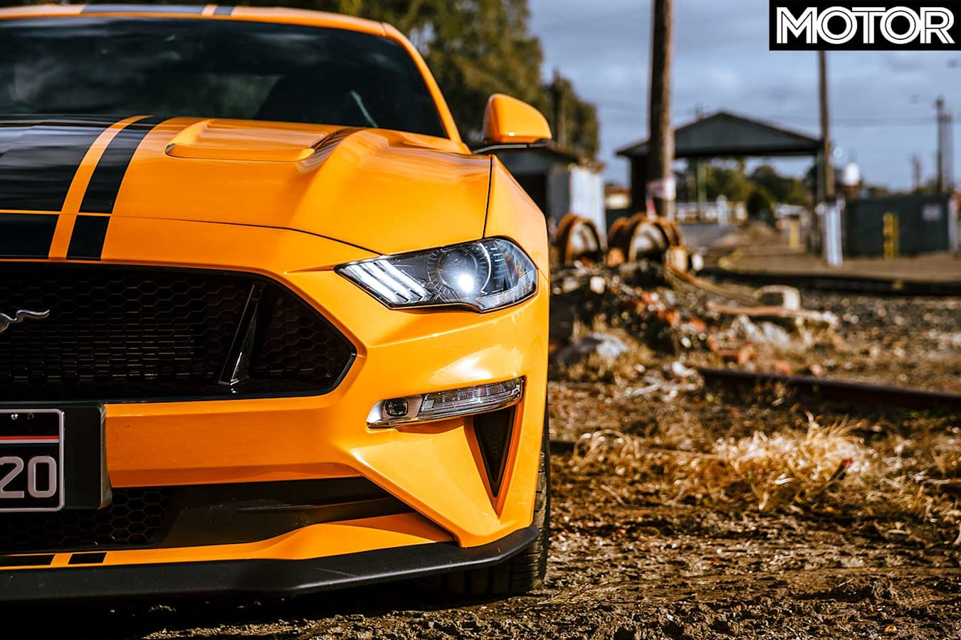 2018 Ford Mustang GT Front Headlight Grille Jpg
