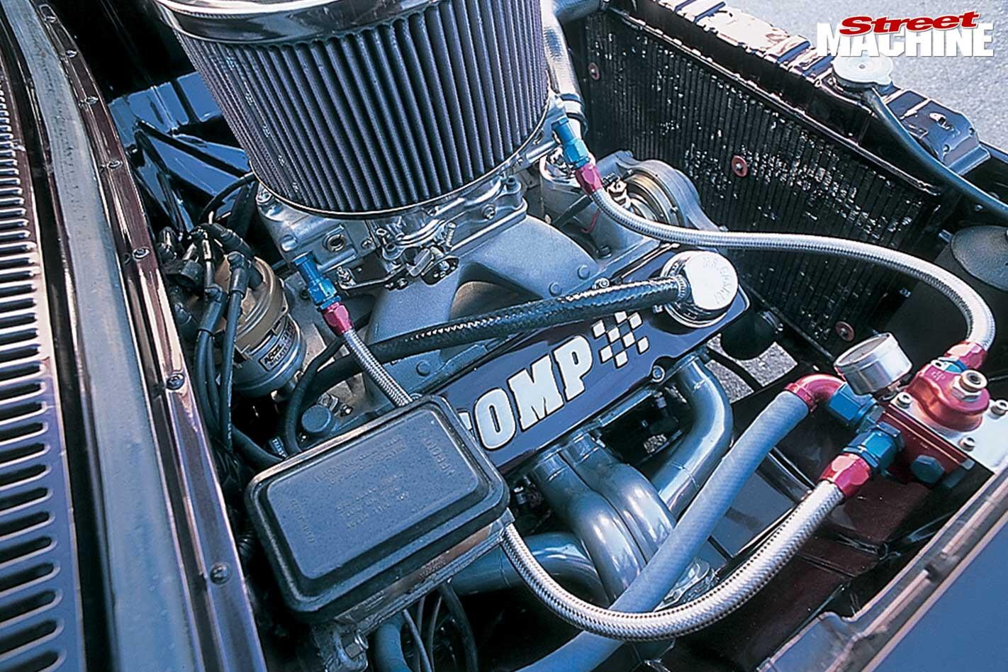 Holden EK engine bay