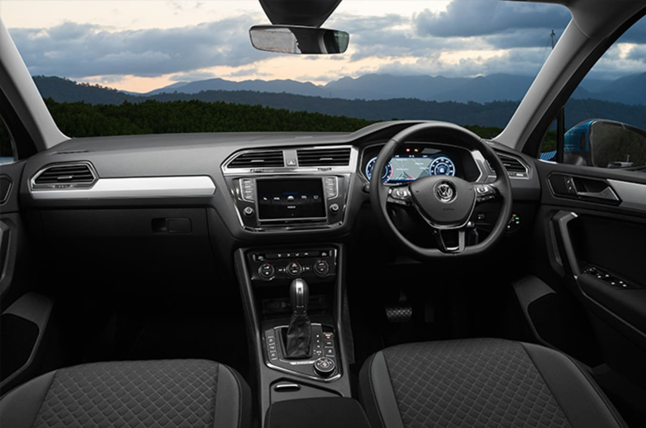 Volkswagen Tiguan Comfortline Interior Jpg