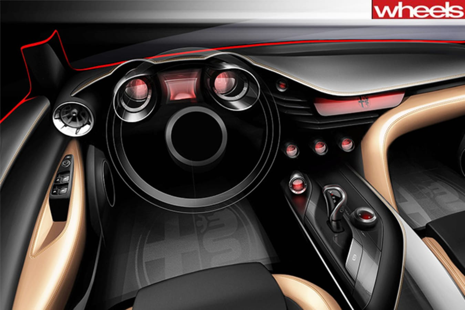 Alfa concept interior