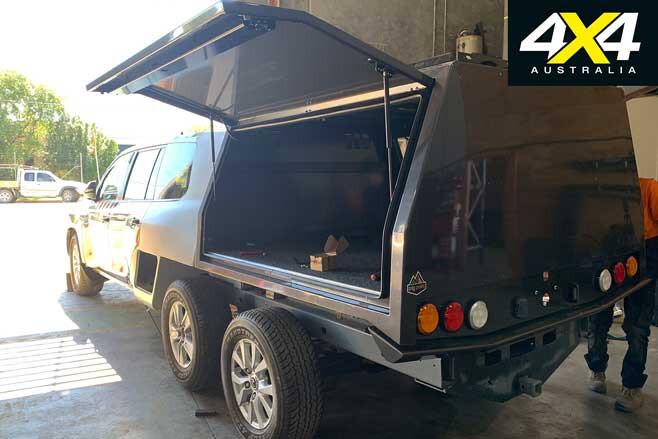 MSA 4 X 4 Custom Toyota Lc 200 6 X 6 Trig Point Canopy Fitment Complete Jpg