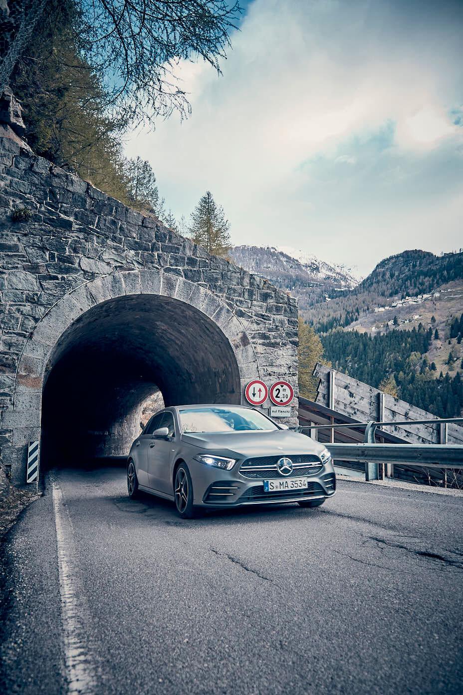 Mercedes-AMG A35 Swiss Alps
