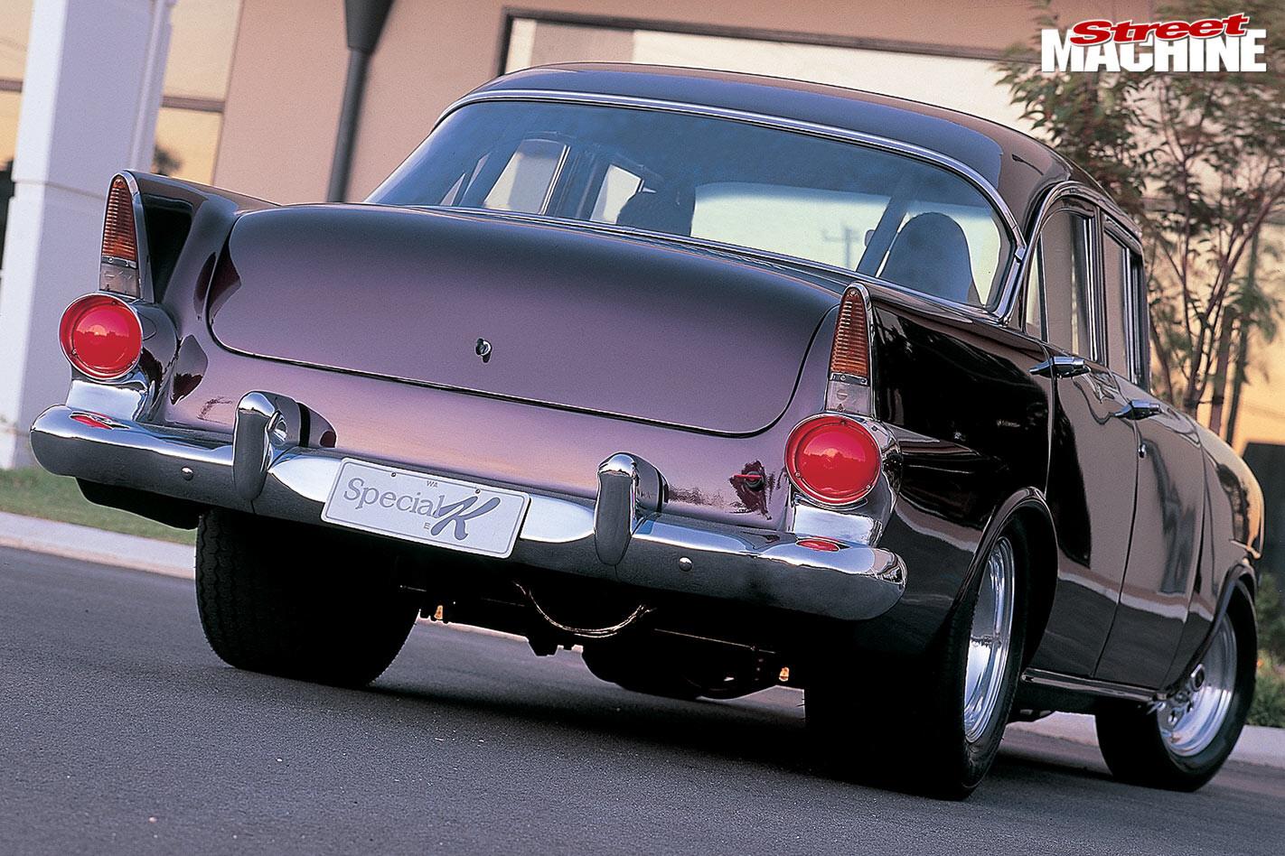 Holden EK rear