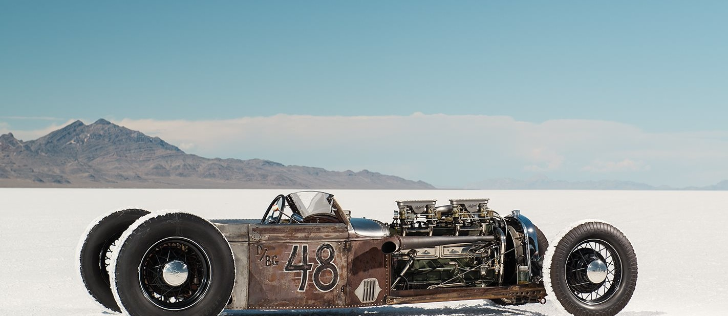 BRIAN THOMAS' FORD MODEL A ROADSTER