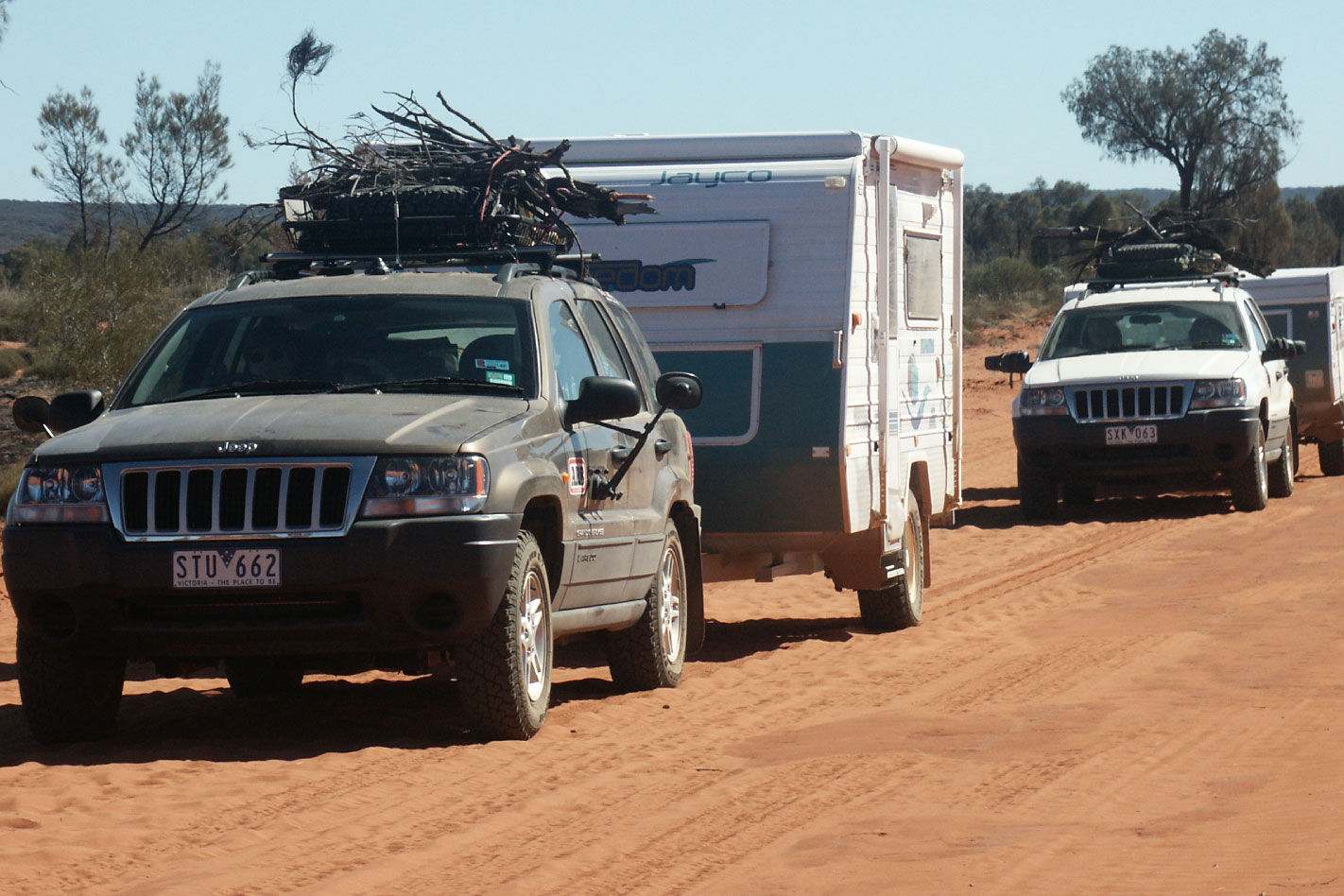Towing with a Jeep