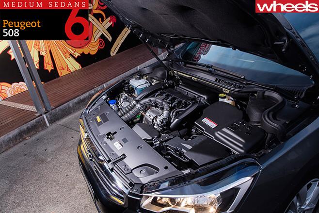 2016-Peugeot -508-mid -size -sedan -engine