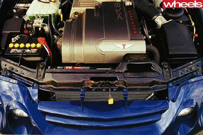 2000-Ford -Falcon -engine