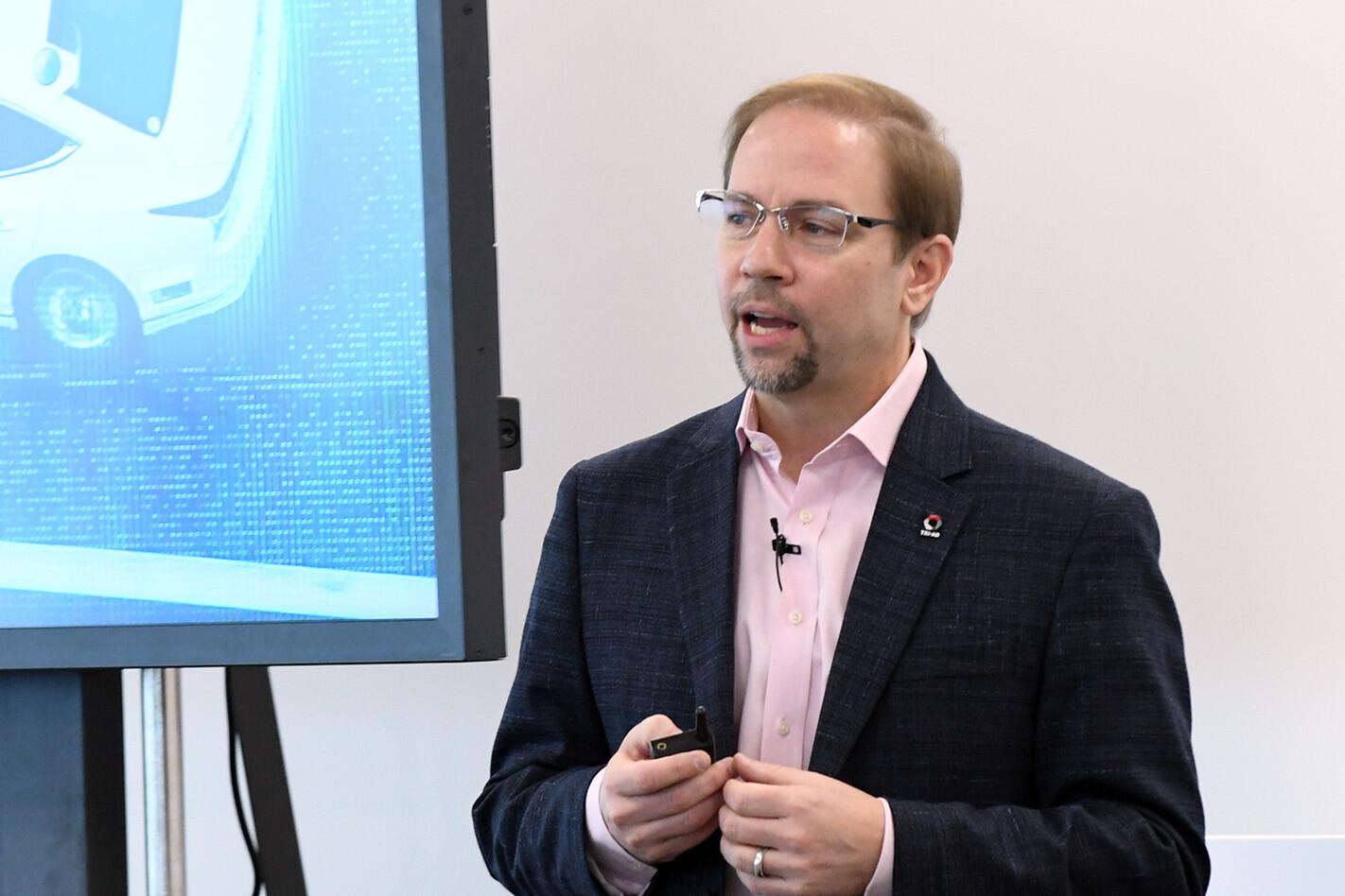 Dr James Kuffner, TRI-AD