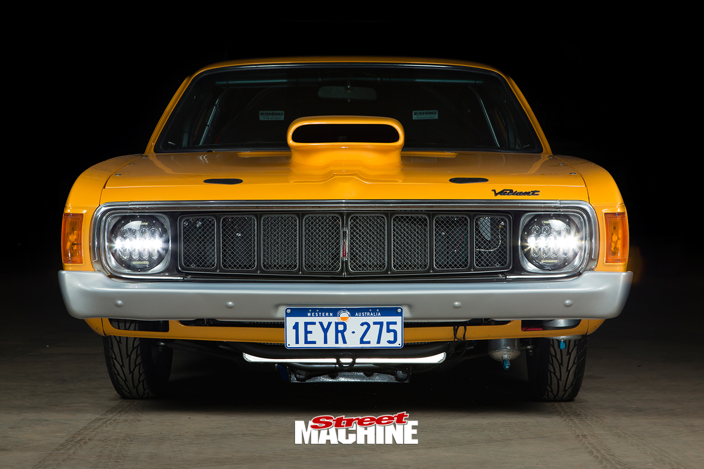 Chrysler -valiant -e 55-charger -front -view