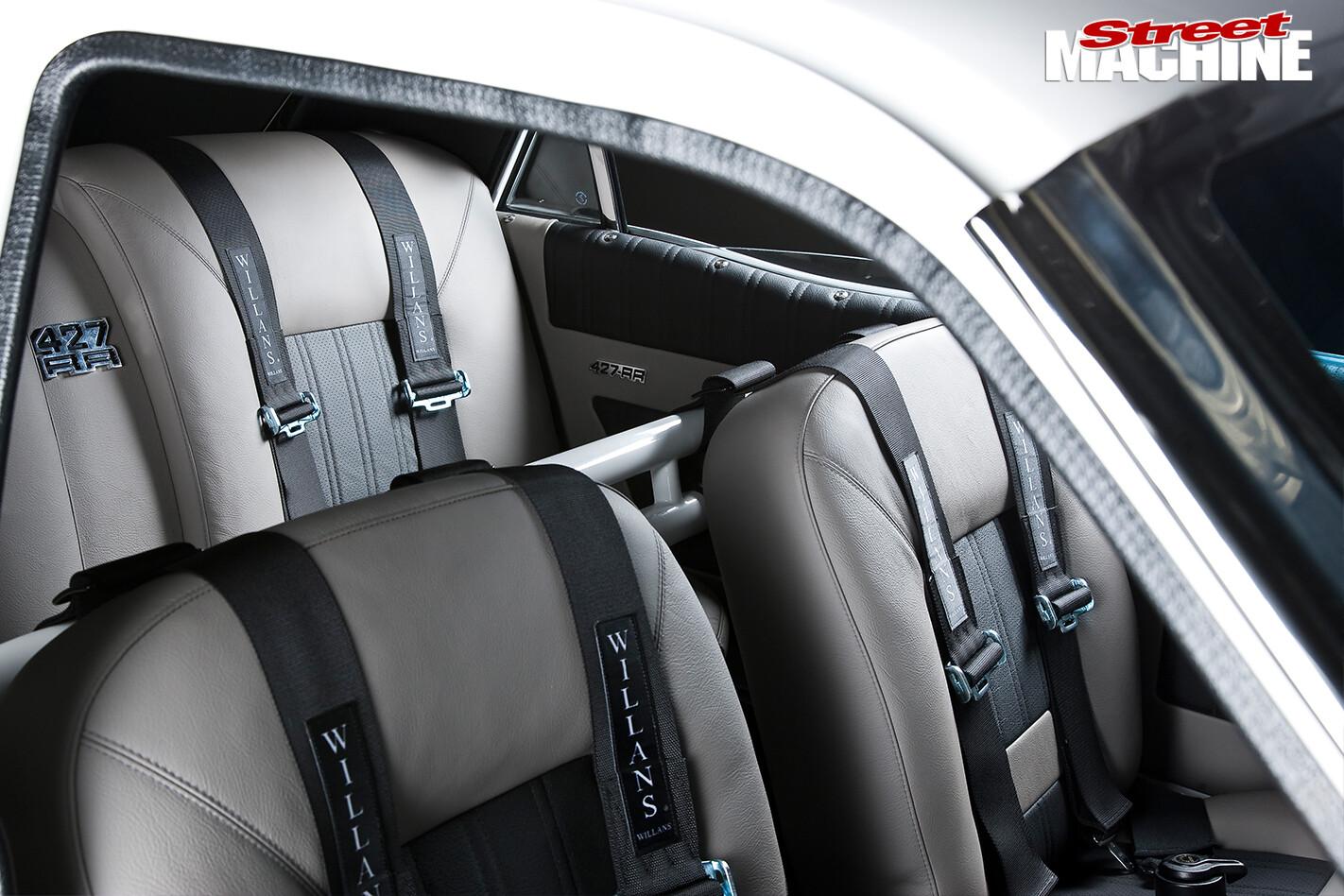Ford -Falcon -XY-Elite -interior -seats