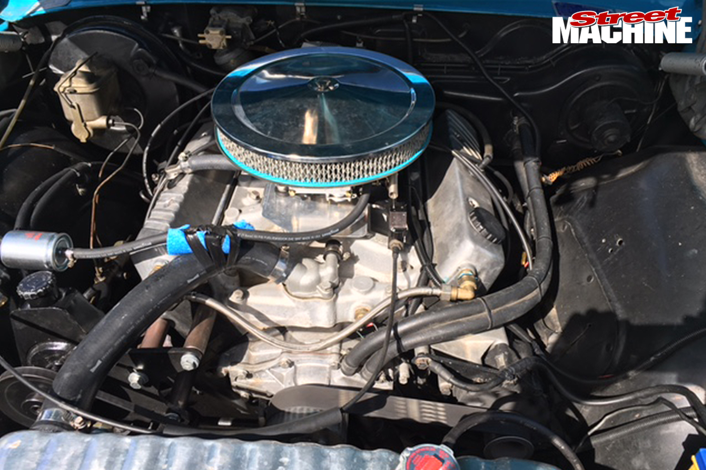 Holden -Sandman -engine