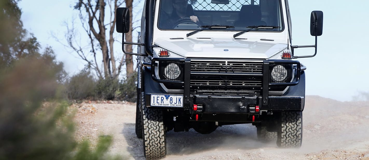 Mercedes-Benz W461 G300 CDI Cab-Chassis