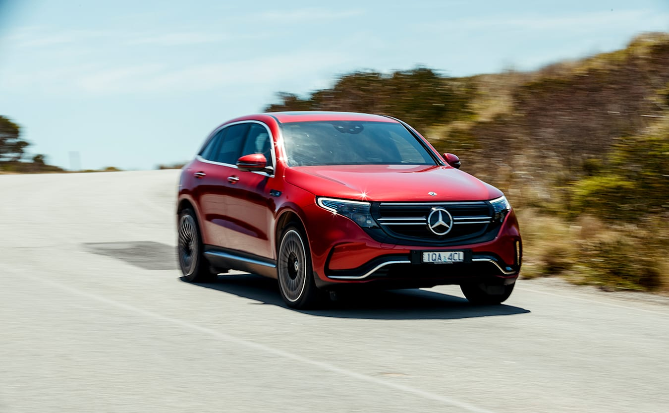 Mercedes-Benz EQC Winner Wheels Car of the Year 2020
