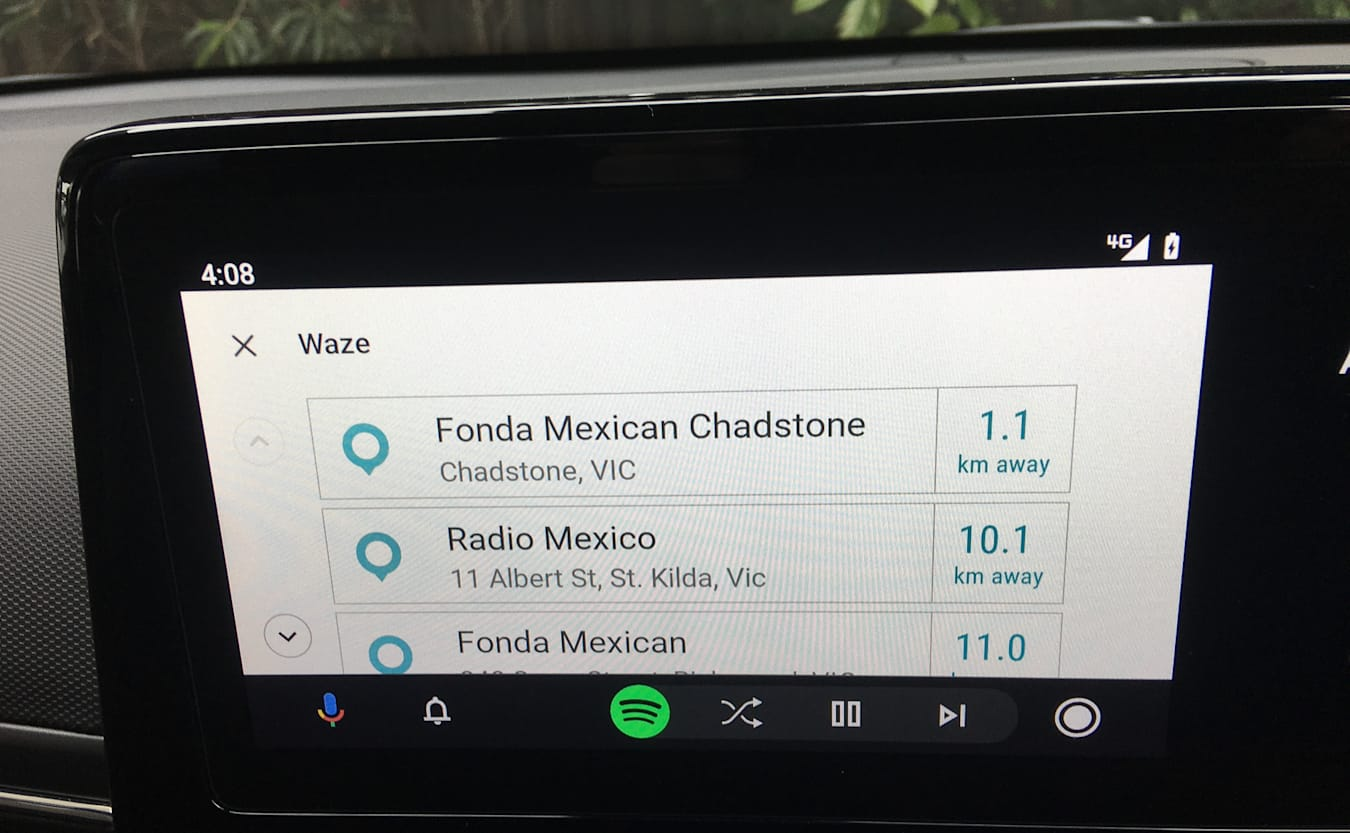 Android Auto Android 10 update review