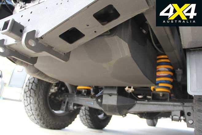 MSA 4 X 4 Custom Toyota LC 200 6 X 6 Project Super Crusier Fuel Tank Jpg