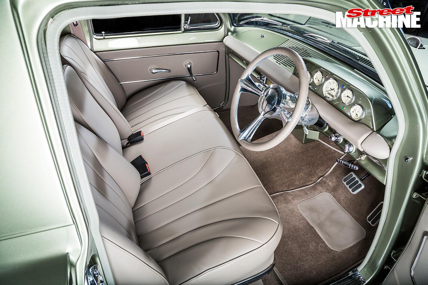 Holden -EH-Panel -Van -interior -front