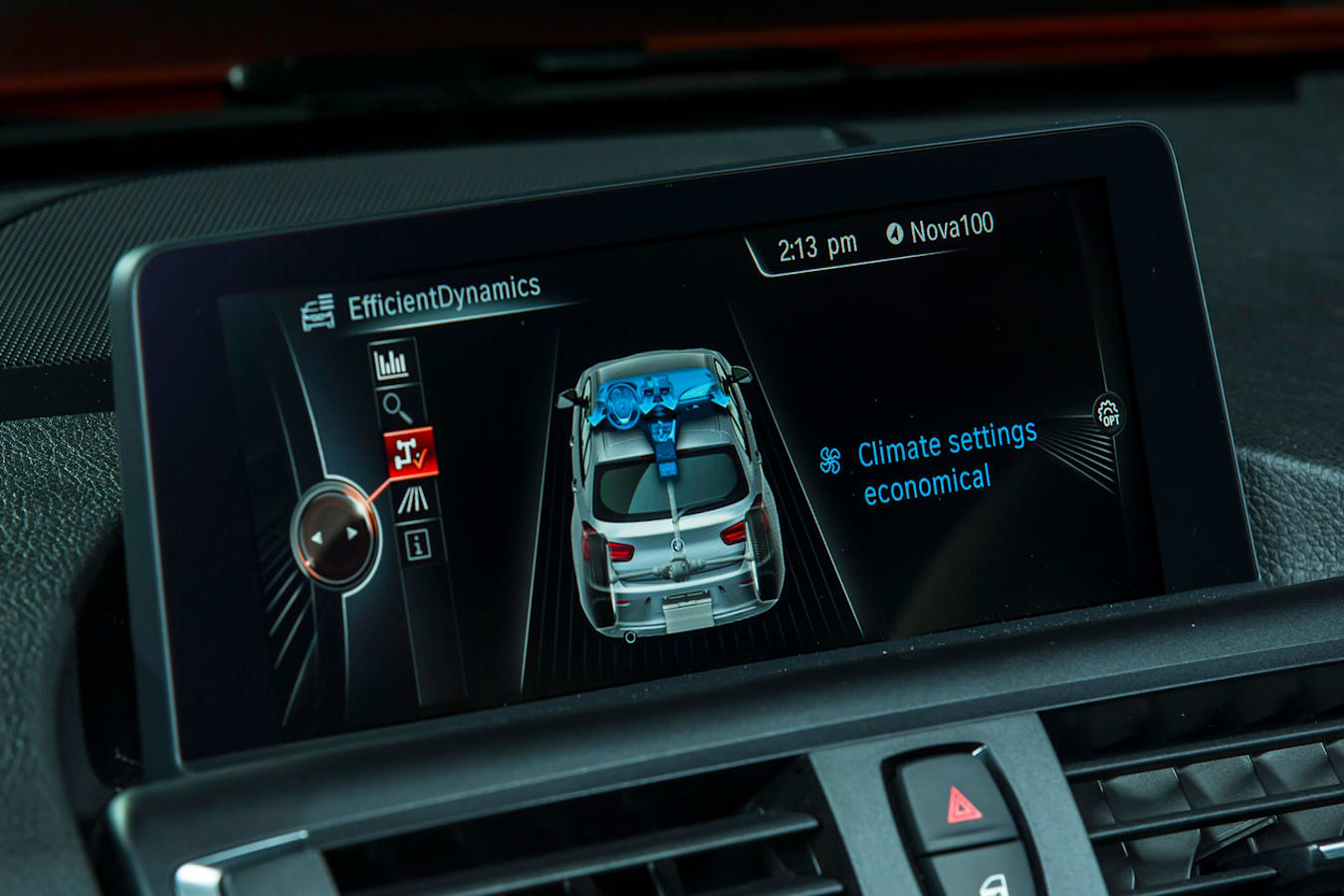BMW125i Screen