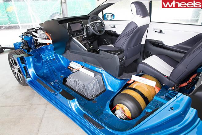 Toyota -Mirai -arrchitecture