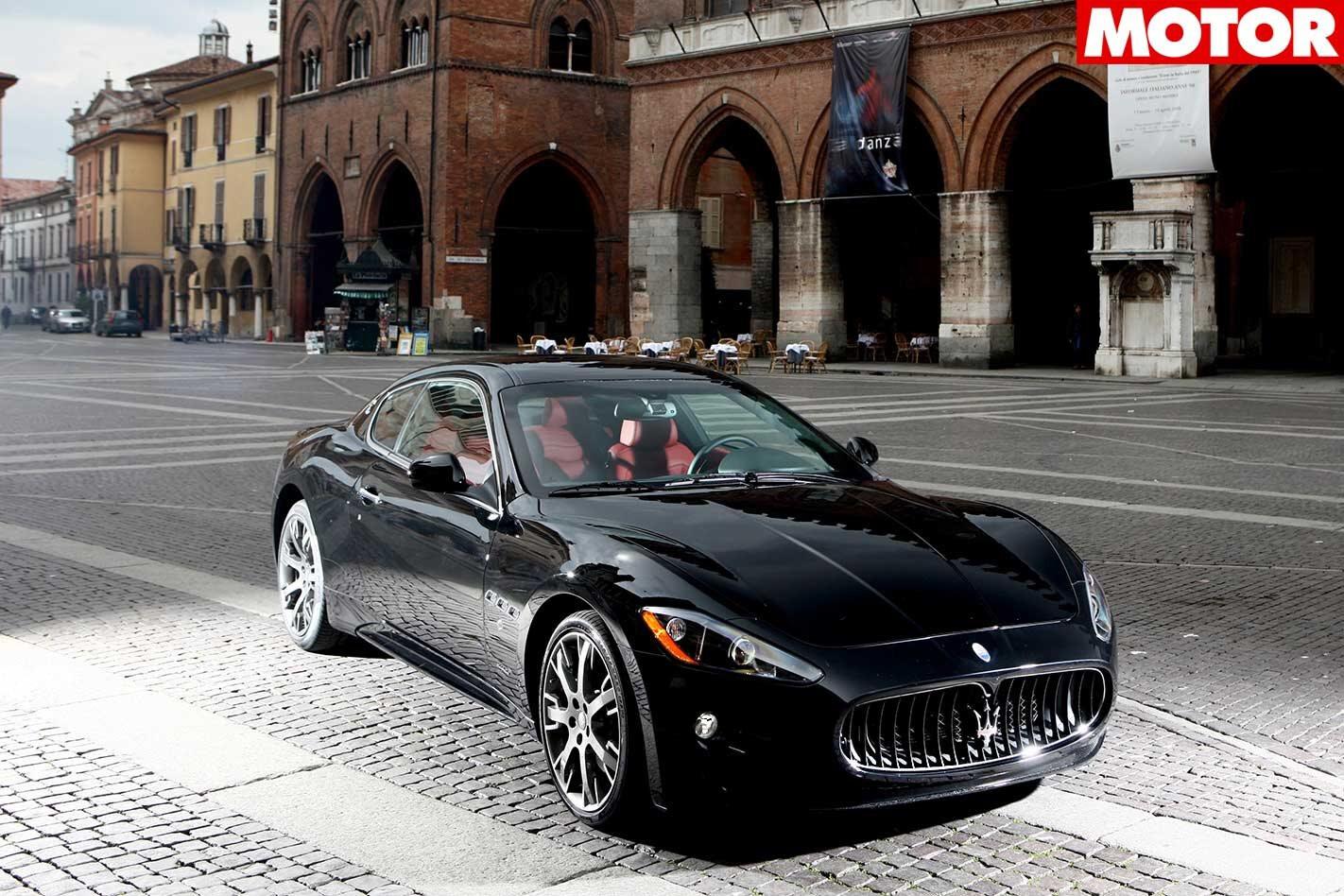 2008 Maserati Granturismo S review classic MOTOR