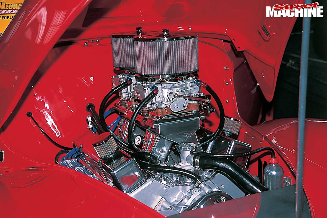Willys coupe engine bay