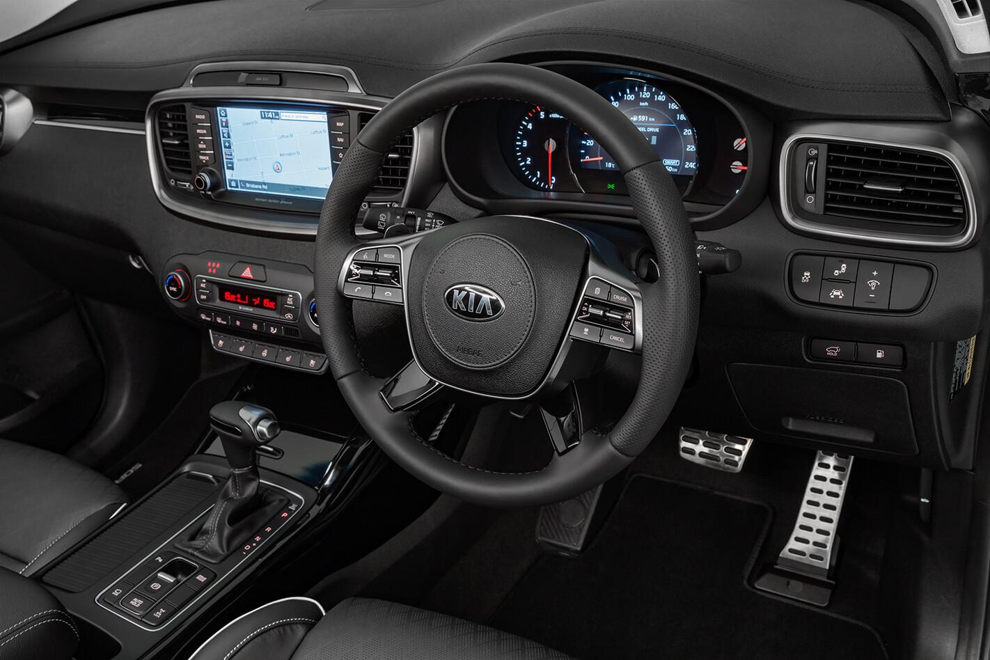 2018 Kia Sorento GT-Line interior