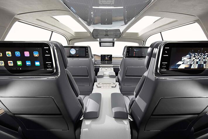 Lincoln Navigator Concept Interior Jpg