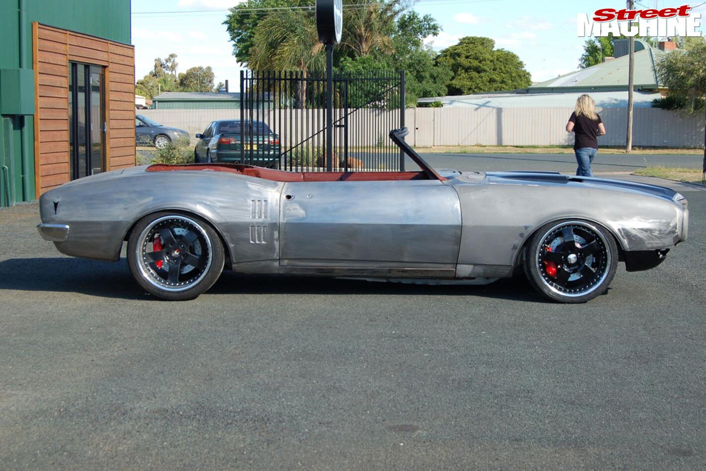 Pontiac Firebird convertible body