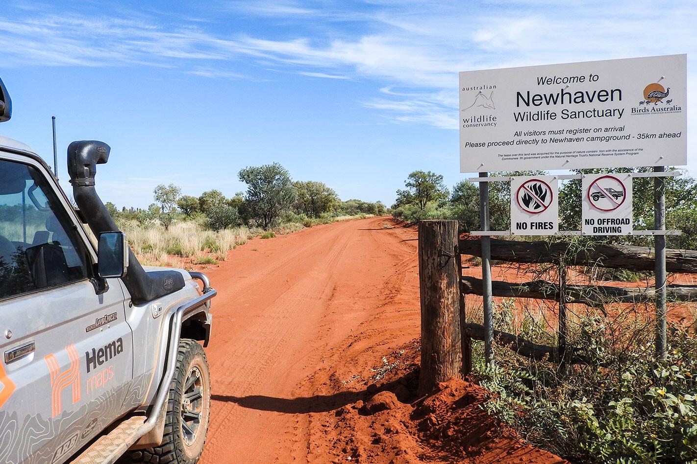 Newhaven Sanctuary Sign