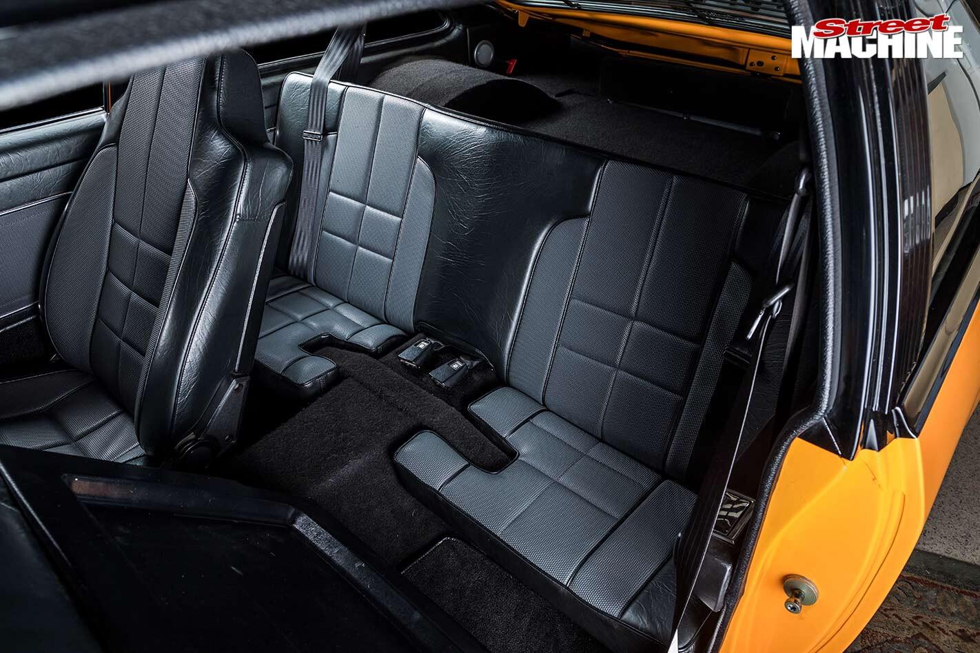 Holden LX Torana rear seats